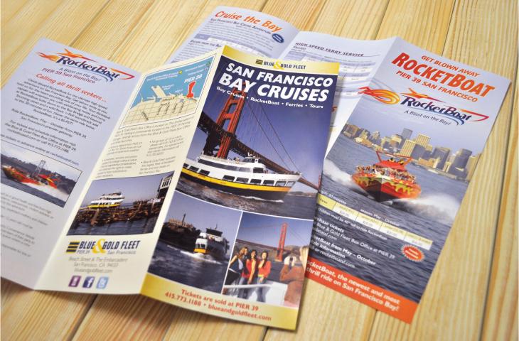 Blue & Gold Fleet brochure