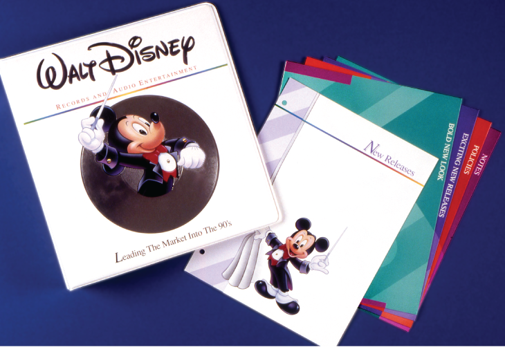 Disney sales binder