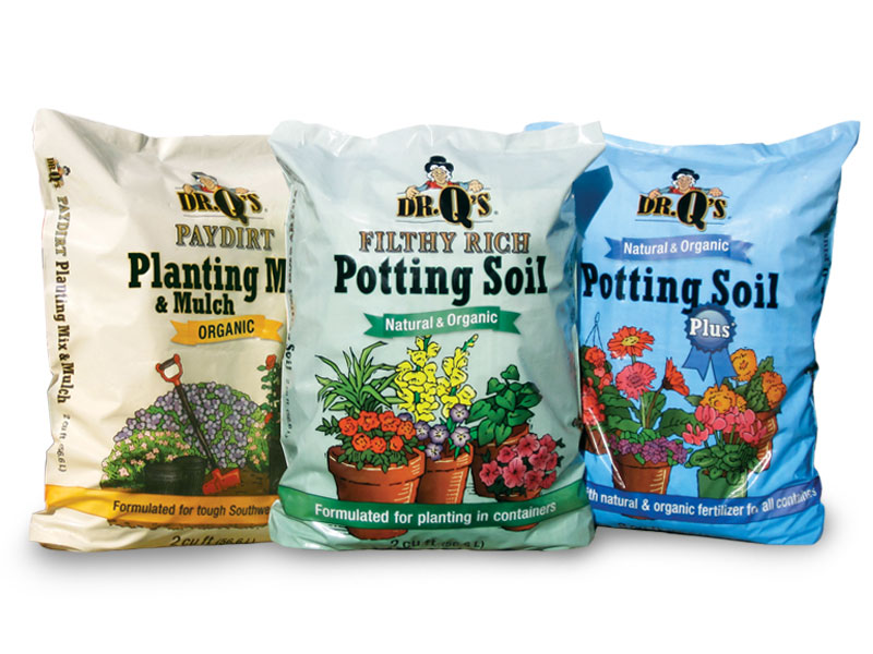 Dr. Q's Planting Mixes