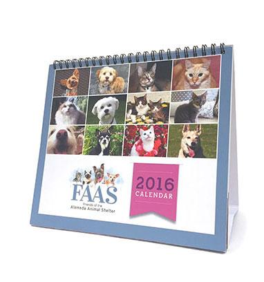 FAAS 2016 calendar design