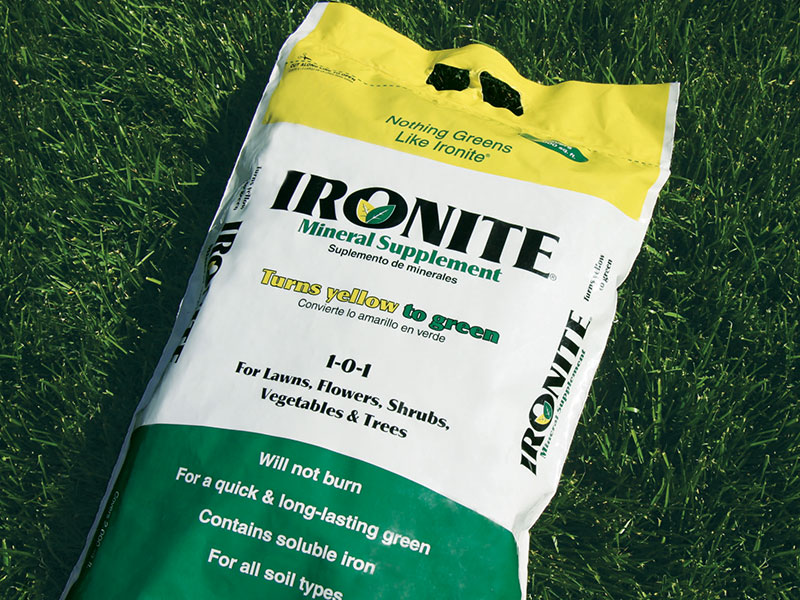Ironite Mineral Supplement packaging