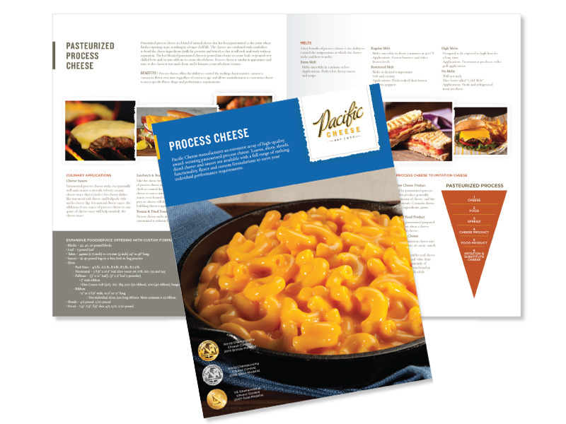 Pacific Cheese brochure