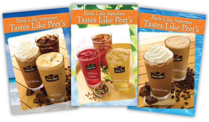 Peet's Coffee summer promo