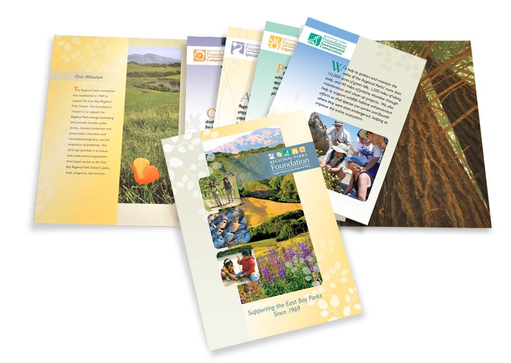 Regional Parks Foundation brochure packet