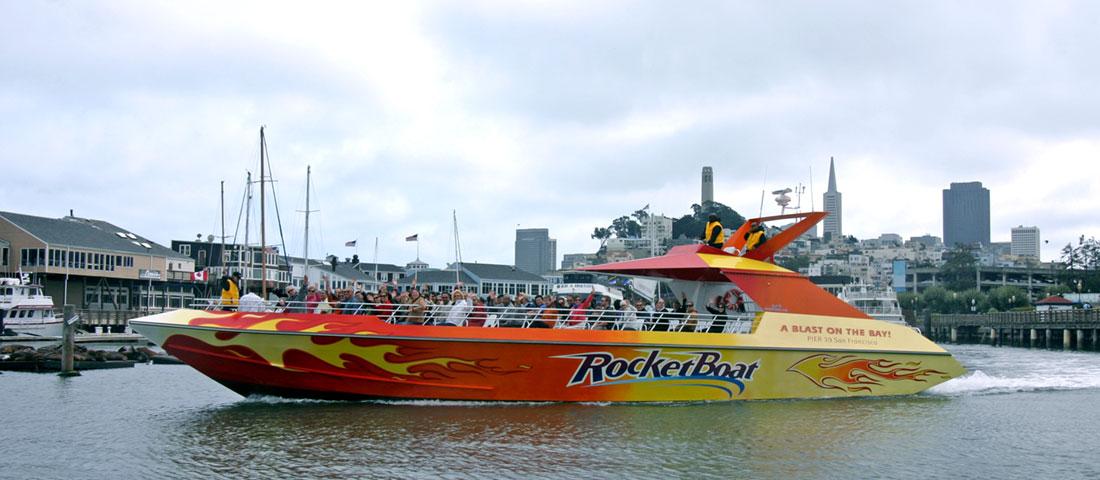Rocketboat at PIER 39