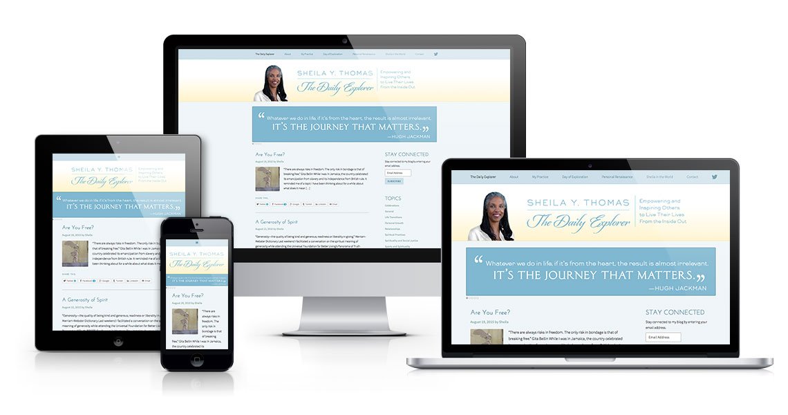 Sheila web design