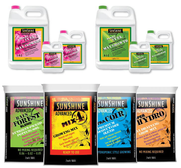Sunshine Advanced Growing Mixes