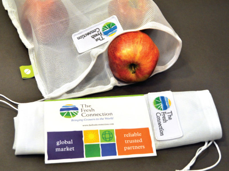 The Fresh Connection reusable produce bag