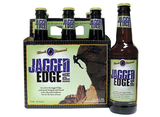 Black Diamond Brewery Jagged Edge six pack