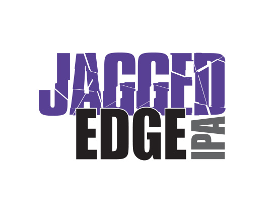 Black Diamond Brewery Jagged Edge logo