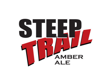 Black Diamond Brewery Steep Trail logo