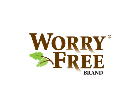 Worry Free garden spray logo