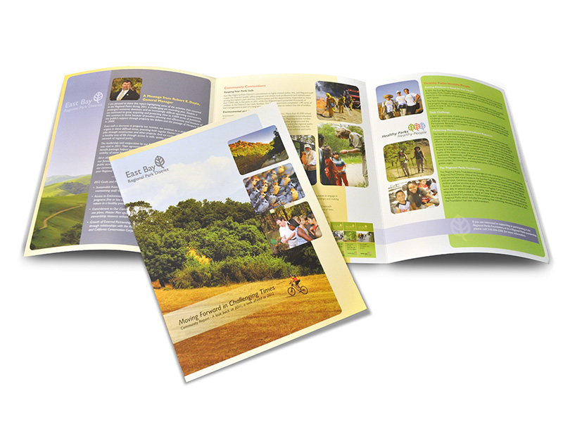 East Bay Parks brochure