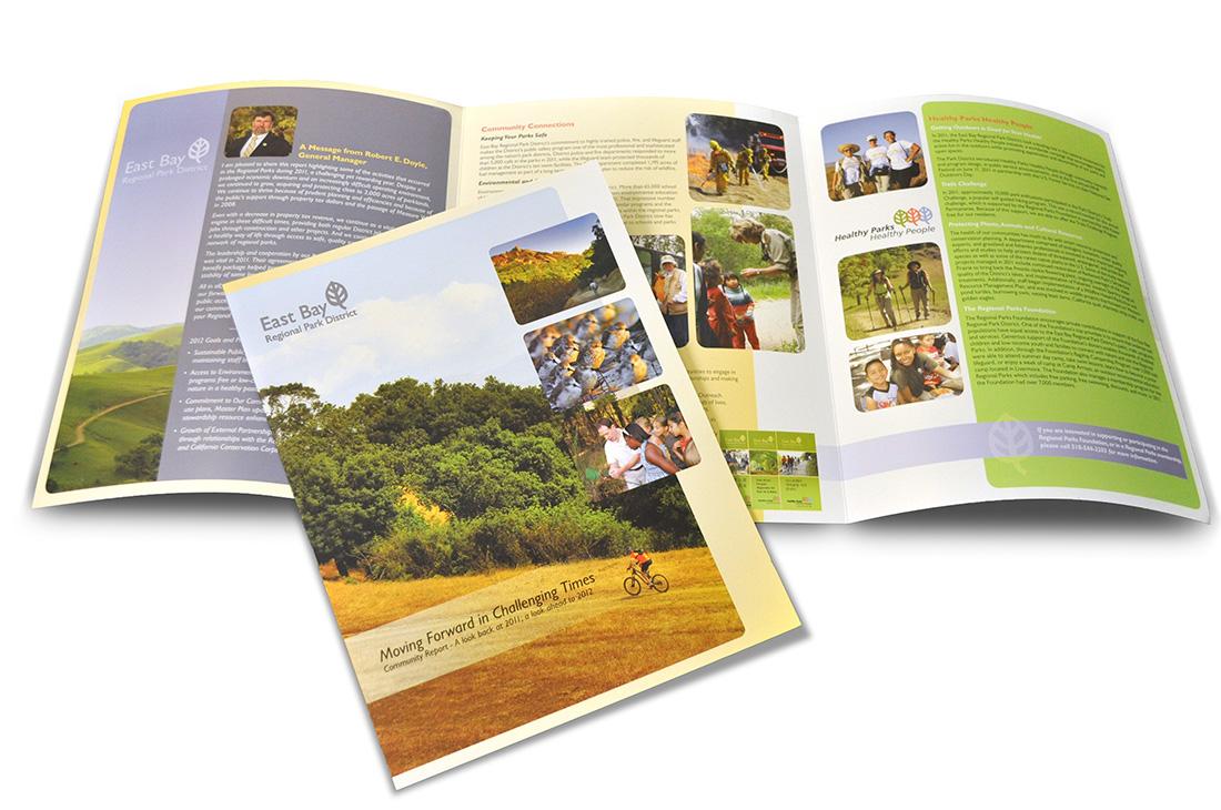 East Bay Parks brochure