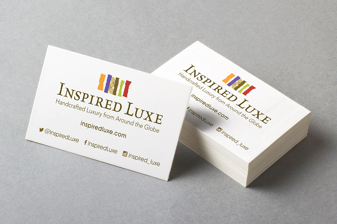 Inspired Luxe business cards