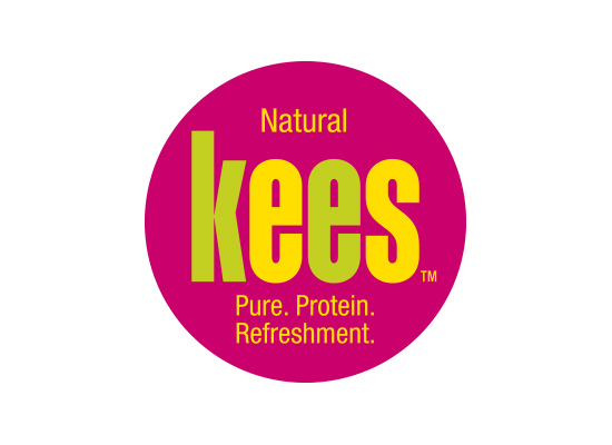 Kees protein drink logo