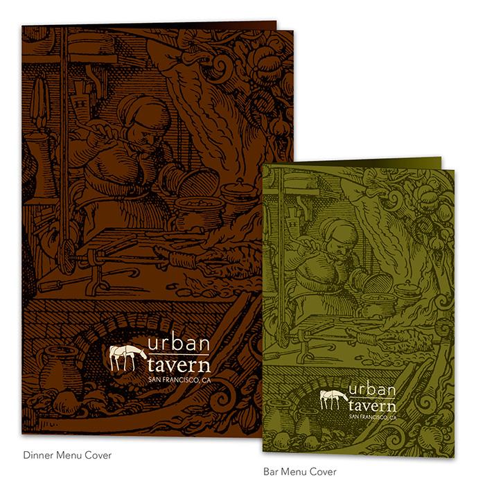 Urban Tavern menus